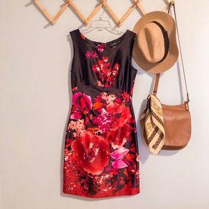 roulette floral dress